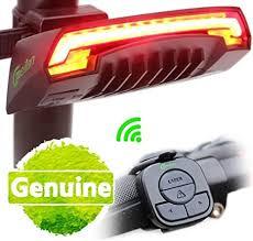 Wireless <b>Remote</b> Control Smart <b>Bike</b> Tail <b>Light</b> Rear with Turn ...