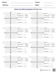 algebra worksheets with answers – streamclean.info