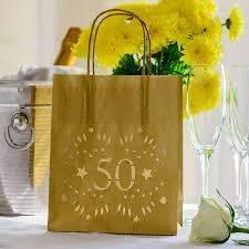 50th birthday party decoration lantern bag