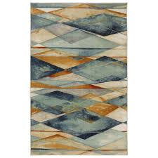 mohawk home diamond illusion multi 5 ft x 8 ft area rug 470999 the home depot