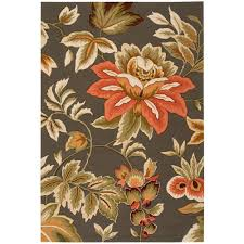 nourison french country grey 5 ft x 8 ft area rug