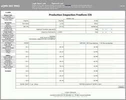 Inspection Report Template Template Business