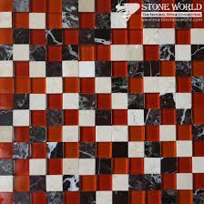 marble glass mosaic tiles for flooring swimming pool mm 017