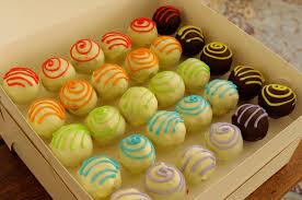 Rainbow Cake Pops Balmoral Chef