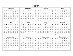 2014 Printable Monthly Calendar With Holidays Printable Calendar