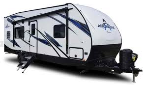 the coachmen adrenaline is a lightweight 1 2 ton travel trailer toy hauler that es fully equipped with the features and amenities most users want