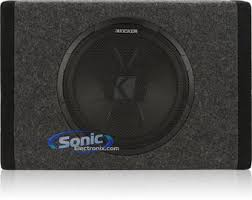 kicker pt10 11pt10 100w sealed amplified loaded sub enclosure product kicker pt10