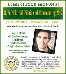 at st patrick s irish picnic and homeing 2017 today visithumphreys about the irish picnic html pic twitter vdvlukw7eg