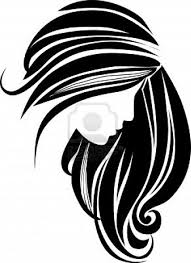 dresser clipart black and white. black hair clipart | panda - free images dresser and white