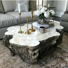 natural stone coffee tables natural stone coffee tables daze brilliant our fossilized clam table home design