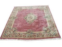 rra 12x14 pink rose aubusson rug carpet fl 29728 12x18 area rugs