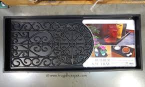 Decorative Boot Tray Costco Deal Bird Rock Home Rubber Boot Tray Frugal Hotspot 20