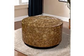 best metal drum accent table with kitchen round drum coffee table round wood drum coffee table