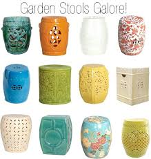 chinese garden stool. Chinese Garden Stool Ceramic Stools Decorating With Porcelain . F
