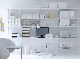 Ikea office storage Solutions Amazing Ikea Office Storage Algot White Wall Mounted Storage Solution With Shelves And Wall Uprights Occupyocorg Ikea Office Storage Home Design Inspiration