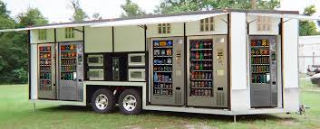 Marketing Vending Machines Best Mobile Experiential Marketing Trailer Loaded With Vending Machines