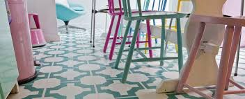 Patterned Vinyl Flooring