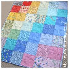 Charm Square Baby Quilt • The Crafty Mummy & charm square baby quilt city weekend Adamdwight.com