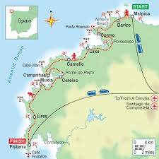 Galicia Climate Chart Self Guided Walking Holiday On The Lighthouse Way Camino Dos