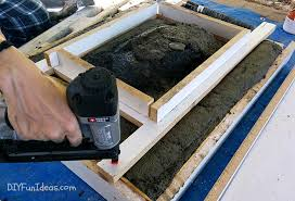 diy concrete sink. Brilliant Diy HOW TO MAKE A CONCRETE COUNTERTOP OR VANITY TOP WITH INTEGRAL SINK For Diy Concrete Sink