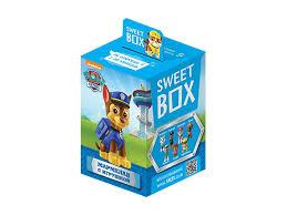 <b>Мармелад Sweet</b> Box жевательный с <b>игрушкой</b>, Щенячий патруль ...