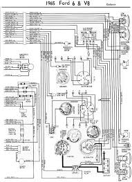 1965 ford galaxie complete electrical wiring diagram part 2 all 2011 ford f150 wiring diagram at Ford Electrical Wiring Diagrams