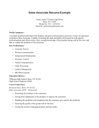 Retail Job Description Resume Sales Associate Resume Example GOOD TO KNOW Pinterest Sales 28