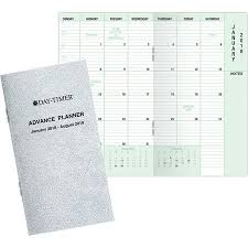 Multi Year Planner Day Timer 20 Month Advance Planner Compact Size Multi Year Planners