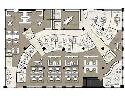office floor plan design. Drawn Office Commercial #3 Floor Plan Design