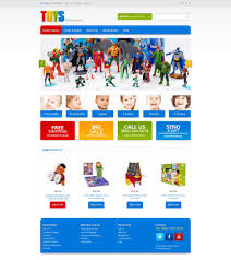 Website Template #46006 Toys Store Baby Custom Website Template Toys ...