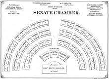Senate Seating Chart Iowa Senate Wikipedia