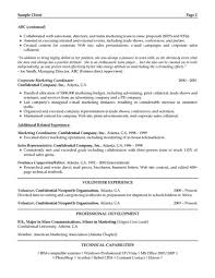 Resume Format For Marketing Professionals It Cover Letter Freshers
