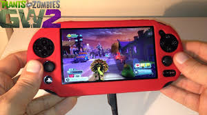 Plants vs Zombies Garden Warfare 2 PS Vita Remote Play Gameplay
