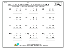 Second-grade-addition-worksheets-column-year-free-printable ...