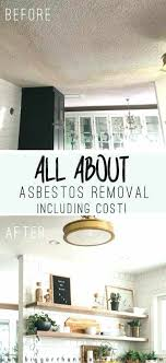asbestos abatement cost per square foot all about asbestos removal including cost cost drywall repair per