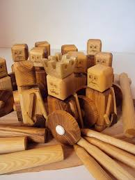 Lawn Game With Wooden Blocks Custom Kubb Beach Game Kubb Set Kubb Game Kubb Blocks Authentic Cub