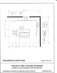 Kitchen Floor Plans Designs 2nd Draft Kitchen Floor Plan For Other Client Kitchen Universal