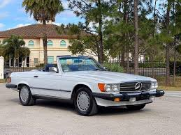 Recent maintenance and repair records show a history of proper care. 1987 Mercedes Benz 560sl For Sale 2458984 Hemmings Motor News