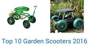 10 best garden scooters 2016