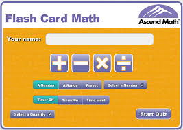 use flash card math free