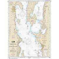 Noaa Chart 12235 Chesapeake Bay Rappahannock River Entrance