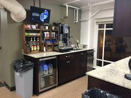 office coffee bar. Logos Bible Software Office Photos On Glassdoor. Free Coffee Station In Building Bar