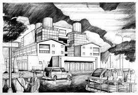architecture building drawing. Exellent Drawing Factory Warehouse Drawing Inside Architecture Building