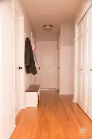 decorate narrow entryway hallway entrance. Small Mudroom In Hallway Entrance With Beadboard Decorate Narrow Entryway
