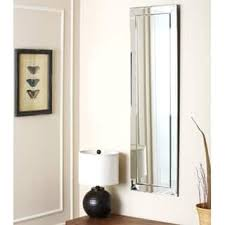 full length wall mirrors. Abbyson Loft Rectangle Wall Mirror - Silver Full Length Mirrors L
