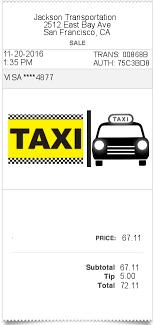 London Taxi Receipt Pdf Taxi Cab Receipt Generator Rome Fontanacountryinn Com