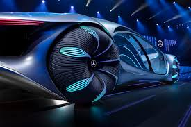 Interior isn't revealed yet but should not be much different from existing mercedes cars. Mercedes Benz Unveils Avatar Inspired Concept Car At Ces 2020