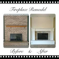 how to cover a brick fireplace remodeled brick fireplaces brick fireplace remodel