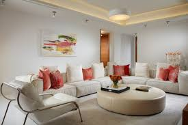 contemporary track lighting living room contemporary. miami home design living room contemporary with rope ceiling lighting halogen track kits orange throw pillow