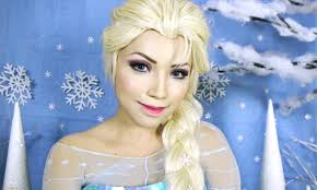 look disney 39 s frozen queen elsa makeup tutorial trendz kpopstarz